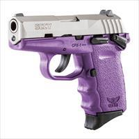 SCCY CPX-1 9mm Auto Pistol with Safety – Satin/Purple - New in Box