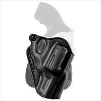 Galco SPD192B, Speed Paddle Holster, Fits S&W L Frame with 3