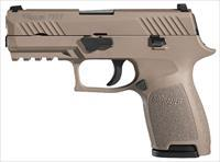 "Sig Sauer FDE P320 Compact 40S&W 3.9"" 13+1 - New in Box"