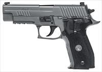 "Sig Sauer P226 Full Size Legion 357 Sig 4.4"" 10+1 Black G10 Grip Gray PVD Stainless Steel Slide"
