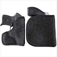 DeSantis Super Fly Pocket/IWB Holster – Ambidextrous, Black - Smith & Wesson Bodyguard .380