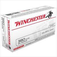 Winchester .380 ACP FMJ 50 Pack