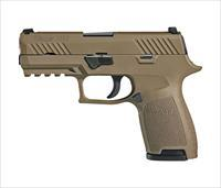 "Sig Sauer P320 Compact 9mm 3.9"" 15+1 - FDE - New in Case"