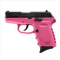 SCCY CPX-2 9mm Auto Pistol – Black/Pink