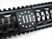 AR15/M4 Custom Picatinny Rail Cover – Three Percenters