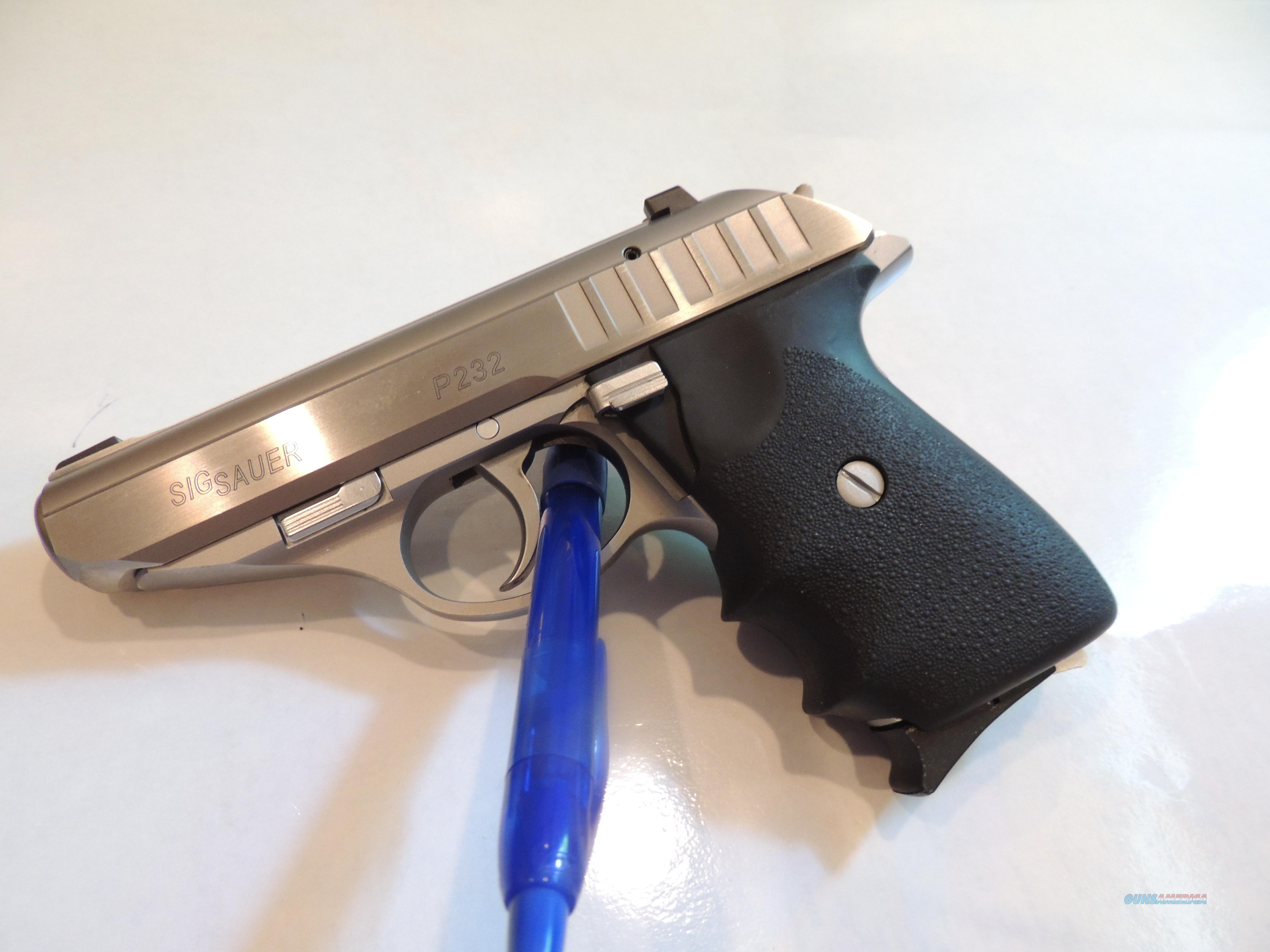 sig sauer p232 made in germany 9mm kurz 3 for sale