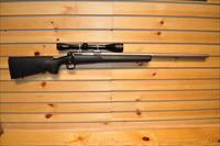 Winchester Model 70 Heavy Varmint with Leupold fixed 12 power gold ring