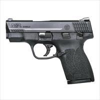 "Smith & Wesson 180022 M&P 45 Shield Double 45 Automatic Colt Pistol (ACP) 3.3"" 6+1/7+1 Black Polymer Grip Black Stainless Steel."