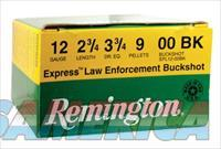 Remington Law Enforcement 12 Gauge 2.75 Inch 1325 FPS 9 Pellets 00 Buck