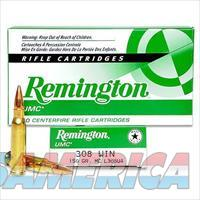 .308 Winchester Remington UMC 150 Grain Full Metal Jacket Bullet 2820 fps 20 Rounds