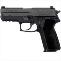 "Sig P229 Semi Auto .40 S&W 3.9"" Barrel 10 Rounds Night Sights Polymer Grips Black Nitron Finish"