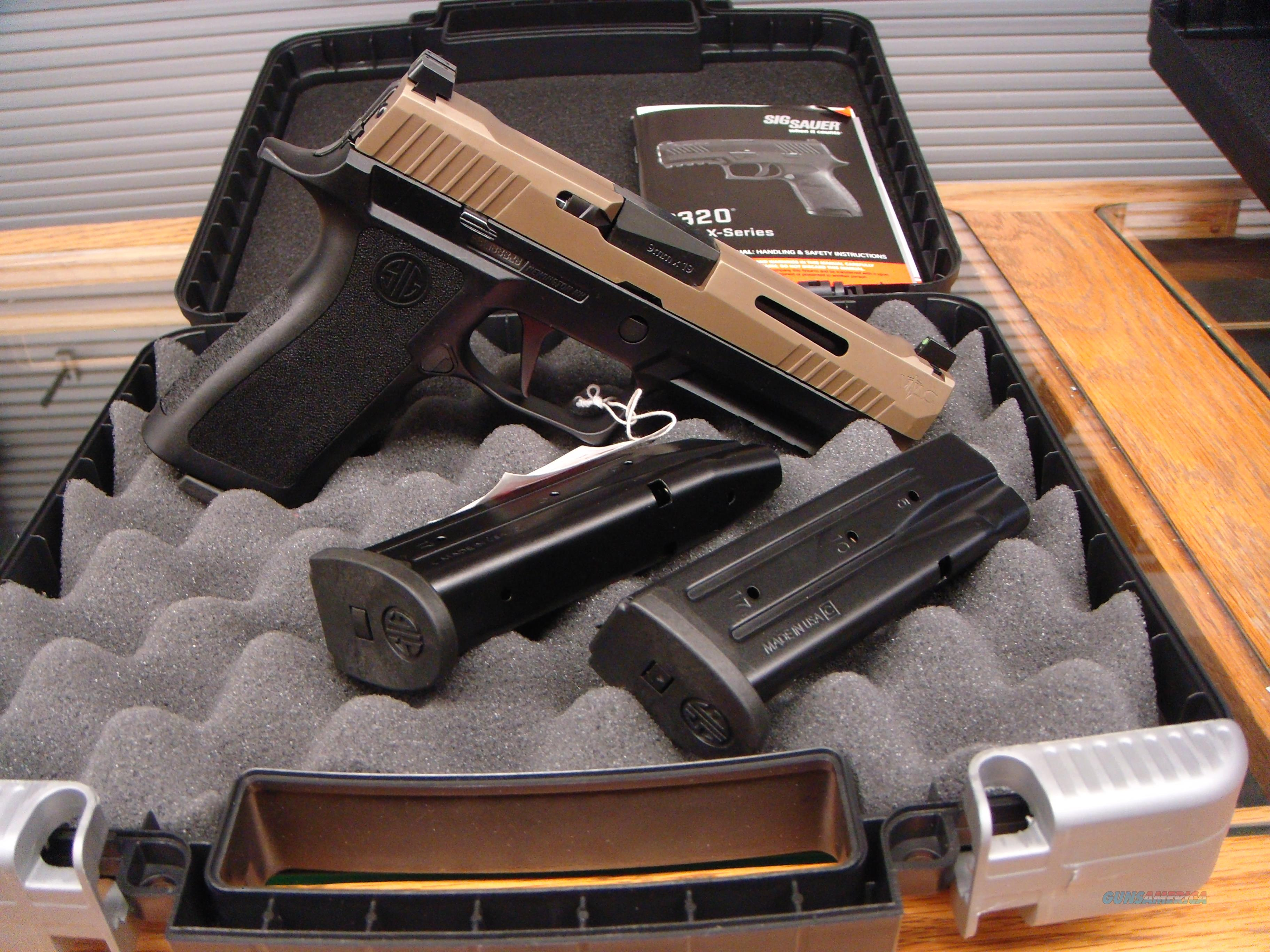 NEW LOWER PRICE!!! SIG SAUER P320 X-VTAC 9MM - SI320XF9VTAC - TALO  EXCLUSIVE FREE SHIPPING!!!