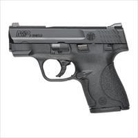 "Smith & Wesson M&P Shield 9mm, 3"" Barrel, Polymer Frame, Thumb Safety, 7rd + 8rd Mag"