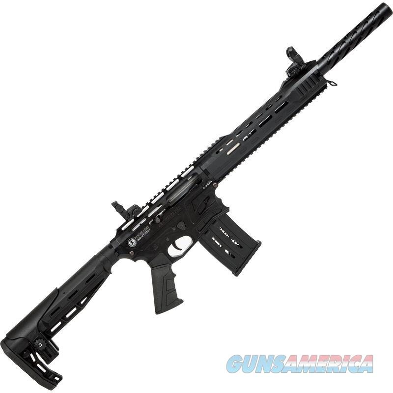 "Panzer Arms AR-12 Pro 12 Gauge Semi Auto Shotgun 20"" Barrel 3"" Chamber 5 Rounds Detachable Box Magazine Synthetic Stock Black Finish"