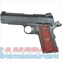 "American Classic 1911 Commander Semi Automatic Pistol .45 ACP 4.25"" Barrel 8 Round Capacity Wood Grips Deep Blued Finish"