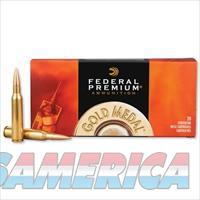 Federal Gold Medal Match .338 Lapua Mag. Sierra Matchking Boat Tail Hollow Point, 250 Grains 2950 fps, 20 Rounds per Box