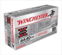 .44-40 Winchester USA 225 Grain Lead Flat Point Bullet 750 fps 50 Rounds