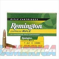 7.62x39mm Remington Express 125 Grain SP Bullet 2365 fps 20 Rounds