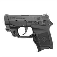 Smith and Wesson Bodyguard Black .380 ACP 2.75-inch 6Rd Crimson Trace Green Laser