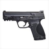 "Smith & Wesson 12098 M&P 40 M2.0 Compact 40 Smith & Wesson (S&W) Double 4"" NTS 13+1 Black Interchangeable Backstrap Grip Black Polymer Frame Black Armornite Stainless Steel Slide."