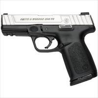 "S&W SD9 VE Semi-Automatic Pistol 9mm Luger 4"" Barrel 16 Round Capacity Polymer Grip Duo Tone Finish"