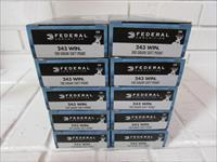 243 Win 100gr Federal Power-Shok Soft Point CASE of 200 Rounds