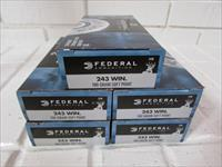 243 Win 100gr Federal Power-Shok Soft Point 100 Rounds