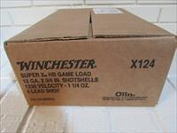 "12 ga. 2 ¾"" Winchester Super-X High Brass #4 250 Rnd Case"