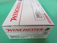 .380 Auto 95gr FMJ Winchester 250 Rnds (5 boxes of 50)