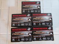 Winchester  Super Pheasant 12 Gauge 3 Inch 1-5/8 Ounce #4 Shot 125 rounds (5 box)