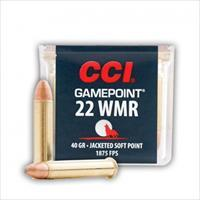 500rds CCI GamePoint # 0022 40gr JSP 22 WIN MAG