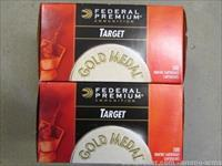 1500rds federal Gold Medal High Vel Match 40gr