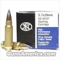 FNH 5.7 VMAX Hornady SS197 2000 rounds(case)