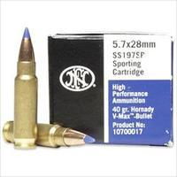 250 Rounds FNH 5.7x28 V-MAX 40gr / PS90