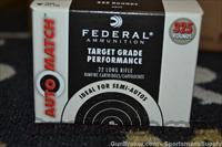 3250 Rnds Federal 22LR 40 Gr Solid Automatch