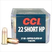 1000rds CCI-028 SHORTS HP 27GR 1105 FPS