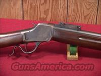 122S WINCHESTER 1885 HIGH WALL MUSKET 22LR