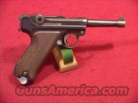 C605R GERMAN LUGER SNEAK REWORK 30 CAL