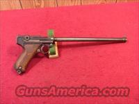 "C609R GERMAN LUGER 30CAL. DWM WITH 12"" BARREL"