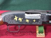 "222o WINCHESTER MODEL 12 12GA 30"" MOD VR ENGRAVED"