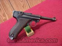 C615R LUGER DWM  1920/1911 DOUBLE DATE 1920 MILITARY REWORK