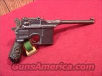 C514R MAUSER BROOM HANDLE 1920 DATED REWORK 9MM