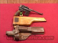 C508R MAUSER BROOM HANDLE WWI MILITARY RED 9 9MM