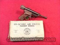 C141 HY-SCORE MODEL 800 TARGET SINGLE SHOT 22 CAL