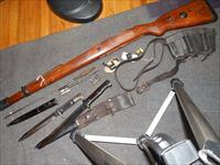 K98k stock and accessories, bayonet, sling, etc.
