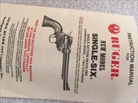 Ruger .22 Cal New Model Single Six 6 1/2 bbl Stainless Steel Vintage