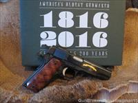 Remington R1 1911 200th Anniversary C High Grade .45acp 1 of 2016................RARE LIMITED EDITION