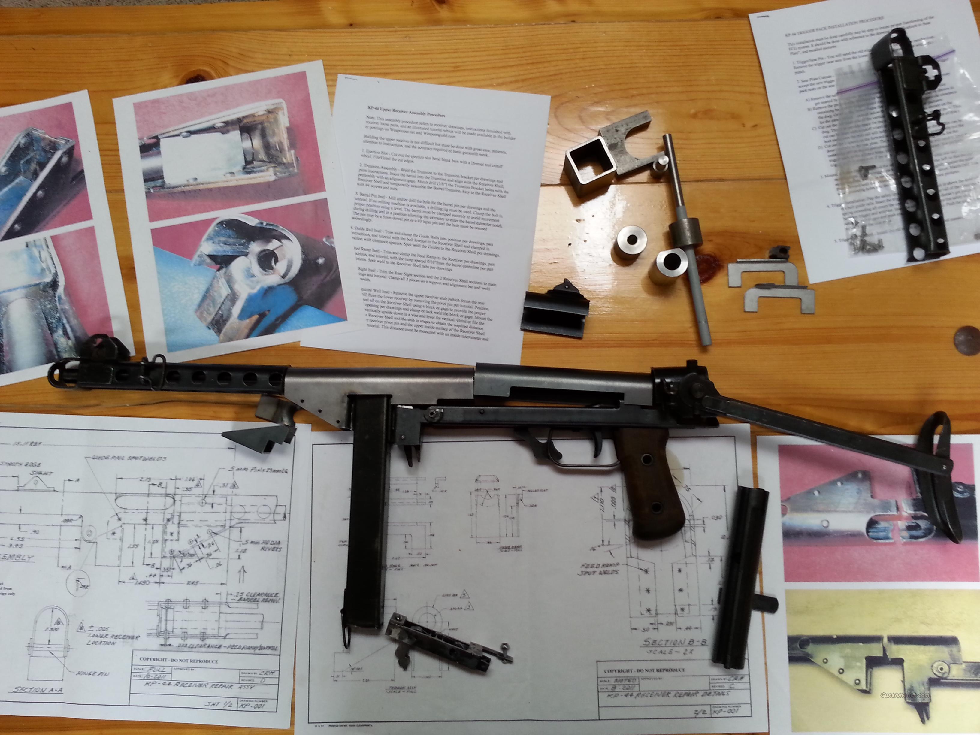 WW2 Suomi KP 44 Complete build kit