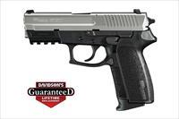 Sig SP2022 2-Tone 9mm 15rds 798681400317