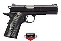 "Browning 1911-22 Black Label Regal 22LR 4.25"" 10rds 051845490"